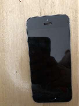 iPhone 5S 16 Gb perfecto estado sin golpes ni vidrios rotos