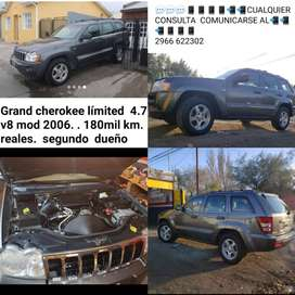 Jeep Grand cherokee limited modelo 2006