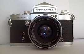 Camara Colección MIRANDA Sensomat RE Japón 1969