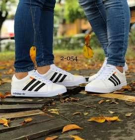 Zapato Tennis Deportivo Adidas Bandera Unisex