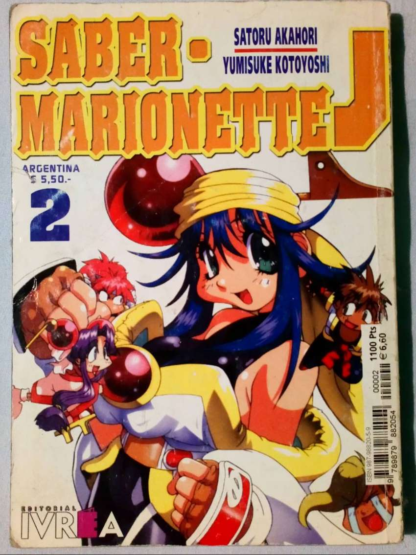 Manga de Saber Marionette J tomo 2