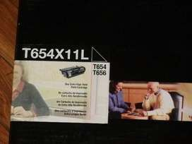 Toner T654x11l T654, X656, X654, X656
