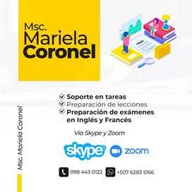 CLASES DE INGLES Y/O FRANCES BASICO/INTERMEDIO