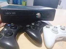 Xbox 360 Cn Mandos Y Juegos
