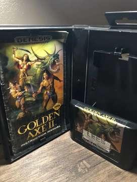 Sega Génesis Golde Axe 2 (original en caja)