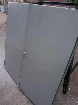 Vendo puerta de chapa reforzada