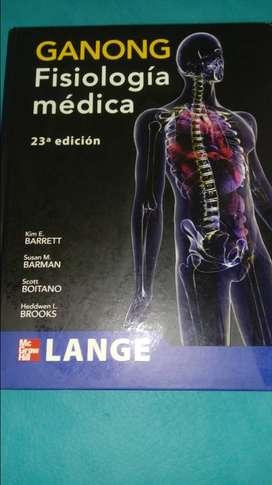 FISIOLOGIA MEDICA GANONG 23 EDICION