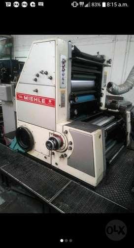 Impresora Roland Mielhe Bicolor