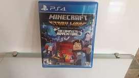 Minecraft video juego casi nuevo poco uso
