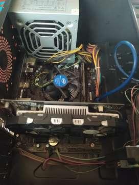cpu gamer i3 - targeta de video gtx 1050