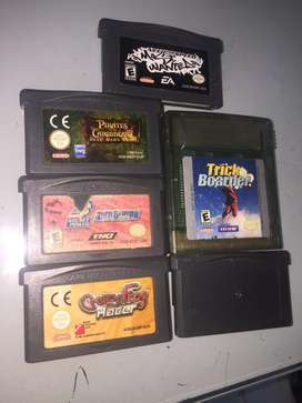Lote de juegos Nintendo Game boy advance gameboy gba
