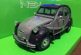 Citroen 2cv Charleston Escala 1:24