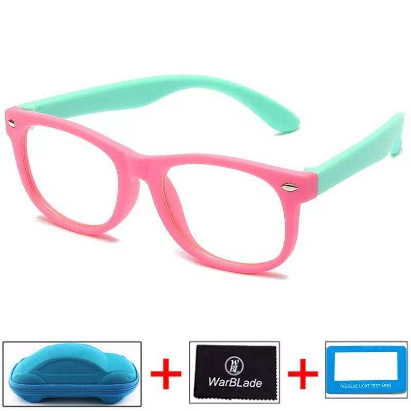 Gafas Para Niños Para Computador Blue Ray Antireflejo Tv Cel CON ESTUCHE