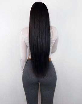 Extensiones de cabello seminatural!