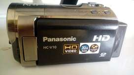 Filmadora Panasonic con Memoria Sd