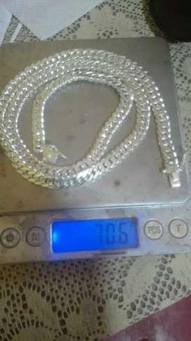 Cadenas de plata 950 70 gramos