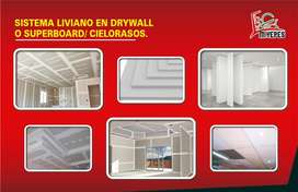 DRYWALL O SUPERBOARD