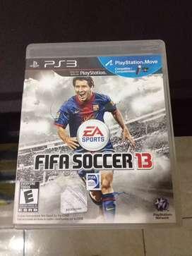 Vendo juego fifa 13 Messi ps3