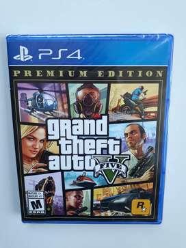 Gta V Gran Theft Auto V Juego Ps4 Nuevo Y Sellado