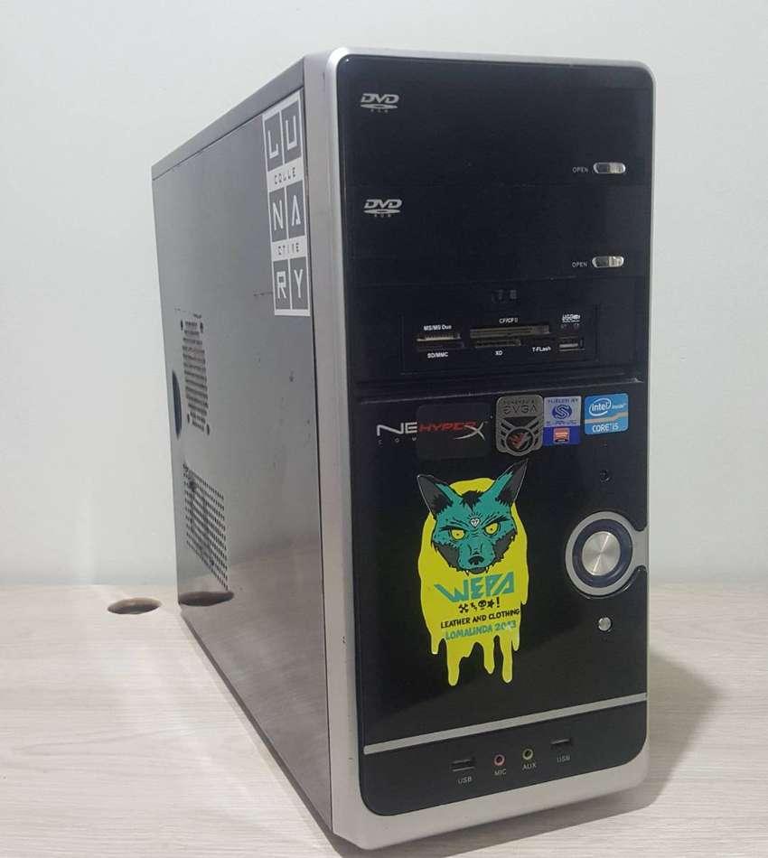 Computador Gaming con NVIDIA GeForce 1050 TI