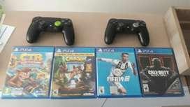 Dos controles y 4 juegos