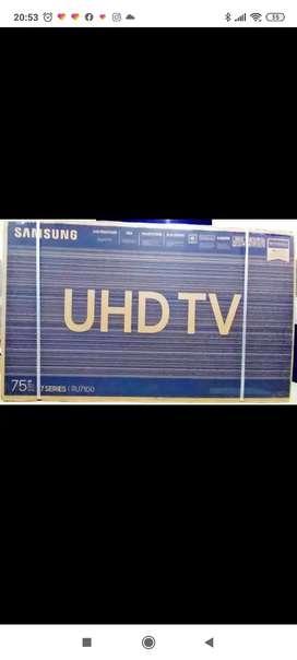 TV de 75 LG y Samsung