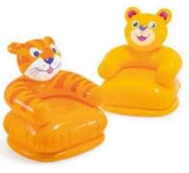 Asiento intex 74x65x64cm sofa de animales inflable hinchable 2 dos modelos  nuevos