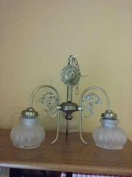 araña lampara