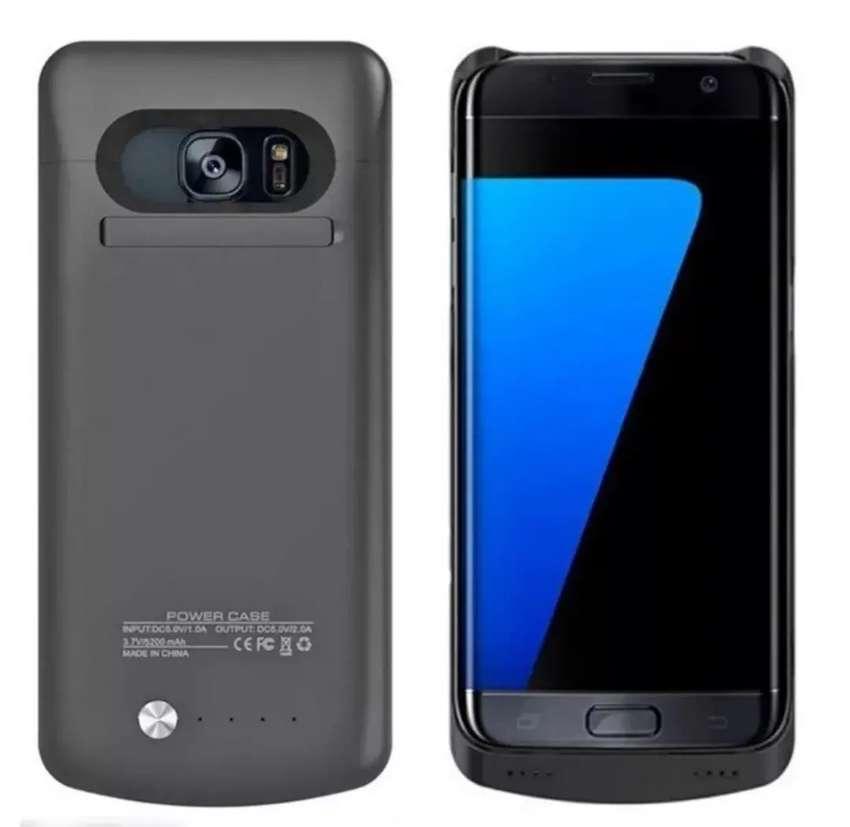 Estuche Bateria Externa Case Samsung Galaxy S7 0