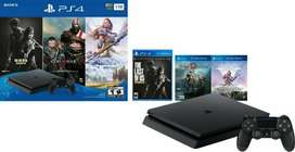 Play Station 4 Slim 1TB gratis 3 juegos