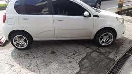 Vendo carro aveo 2012