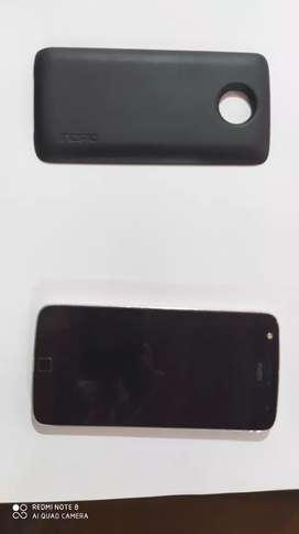 Vendo Motorola Z2 con mod de batería en excelente estado