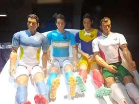 Figuras Articuladas estrellas de Fútbol