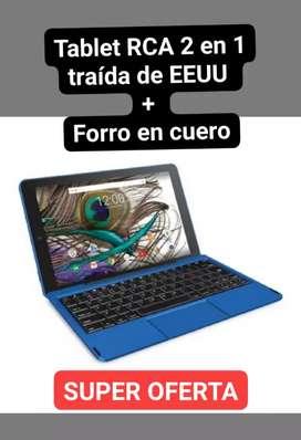 Tablet RCA 2 en 1 + forro en cuero SUPER OFERTA
