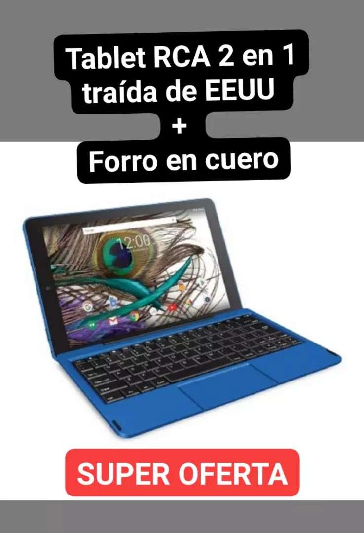 Tablet RCA 2 en 1 + forro en cuero SUPER OFERTA 0