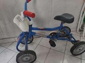 Bicicleta cuatri, para chicos