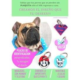 Medallas De Identificación Para Perros Y Gatos