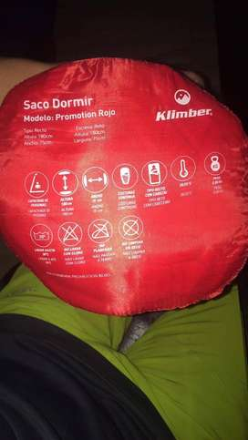 Saco de dormir Klimber un solo uso
