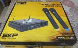 Vendo Microfono Inalambrico Skp-261