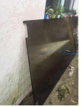 Puerta de vidrio blindex