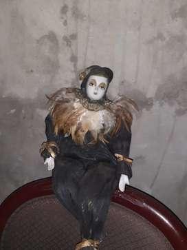 Muñeco arlequin