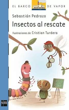 Libro Insectos al rescate, editorial SM