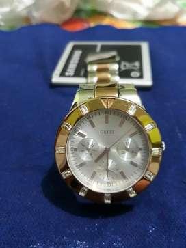 Reloj Guess W14551l1 negociable de cegunda dama