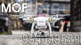 Alquiler de drone phantom grabación en 4k