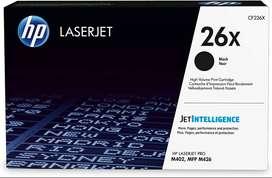 Tóner Original Laserjet Hp 26x Negro Alta Capacidad (cf226x)