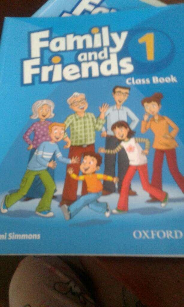 Libros Family And Friends 1 usados 0