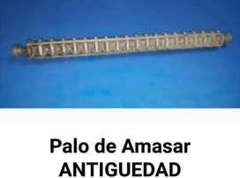 Palo de Amasar.antiguedad.