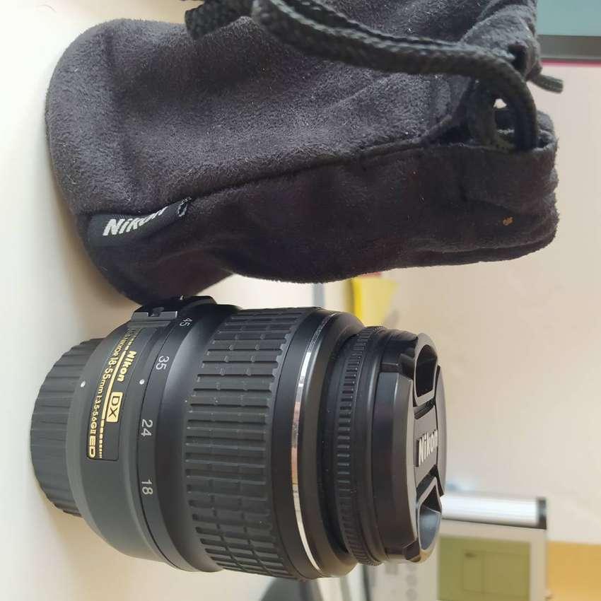 Lente Nikon 1855 F/3.55.6g Vr Afp Dx Nuevo 0
