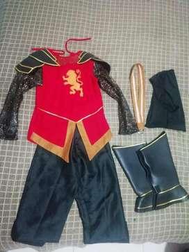 Disfraz de guerrero