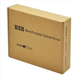 Unidad Quemadora Externa Slim, Cd, Dvd-rw Portable Usb 2.0